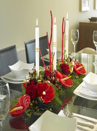 Fleuriste no l nouvel an livraison de fleurs pas cher - Centre de table de noel a faire soi meme ...