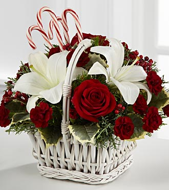 The FTD? Holiday Treasures? Bouquet XX-4357