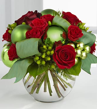 The FTD? Holiday Bliss? Bouquet XX-4365